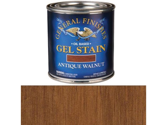 Antique Walnut Gel Stain 1 2 Pint