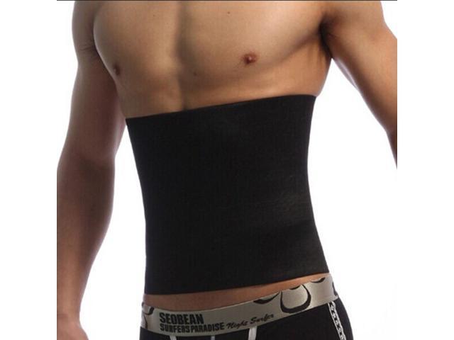 0cbd394c9c8cc TinkSky Men s Inner Muscle Belt Slimming Belt Beer Belly Body Shaper Belt  Abdomen Shaper - Size