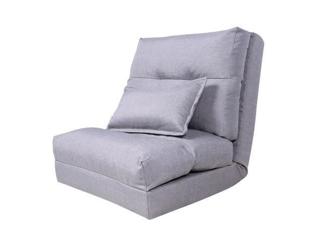 Fantastic Tinksky Fold Down Chair Flip Out Lounger Convertible Sleeper Bed Couch Foldable Sofa With One Pillow 210X65X18Cm Newegg Com Creativecarmelina Interior Chair Design Creativecarmelinacom