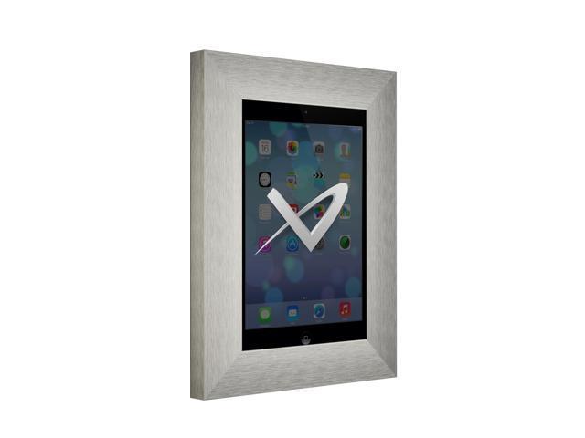VidaMount iPad Mini On Wall Metal Frame - Brushed German Silver ...