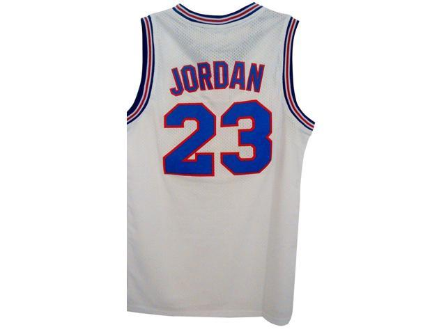 buy popular ed884 4aaff Michael Jordan Tune Squad Youth Basketball Jersey White Space Jam 23 Child  Kids - Toddler 3T - Newegg.com