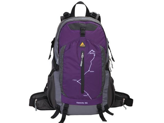 b375d2ad08b5 Kimlee Water Repellent Backpacker Men's Camping Backpack w/ Light  Suspension System - Newegg.com