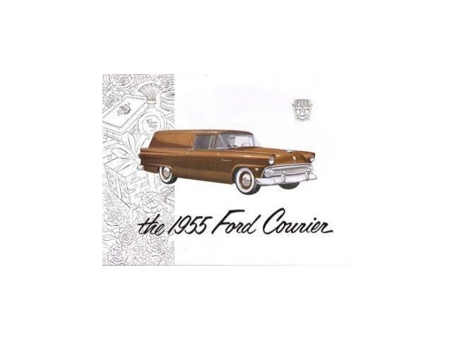 1955 ford courier sales brochure literature advertisement