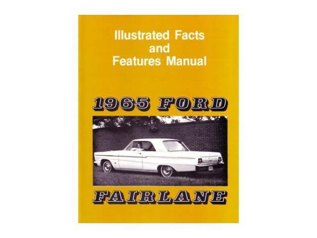 1965 Ford Fairlane Facts Features Sales Brochure Literature Options Colors  Specs - Newegg com