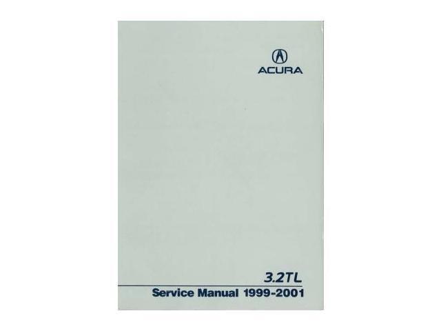 1999 2000 2001 Acura 32Tl Shop Service Repair Manual Book Engine Drivetrain