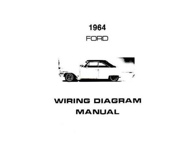 1964 ford galaxie electrical wiring diagrams schematics