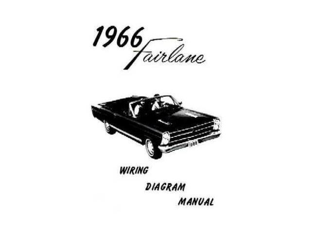 1966 ford fairlane electrical wiring diagrams schematics