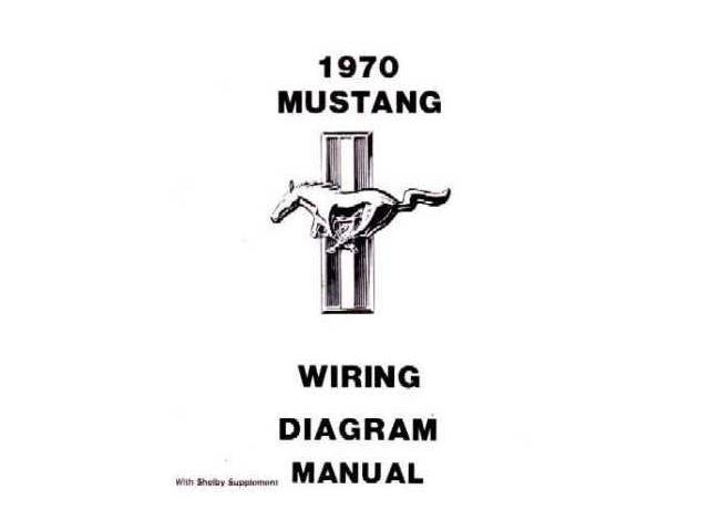 1970 ford mustang electrical wiring diagrams schematics