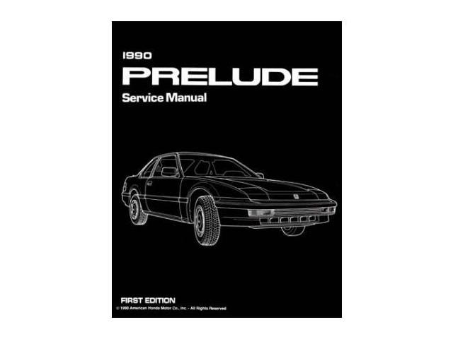 1990 honda prelude shop service repair manual engine drivetrain rh newegg com 1995 Honda Prelude 1990 honda prelude service manual