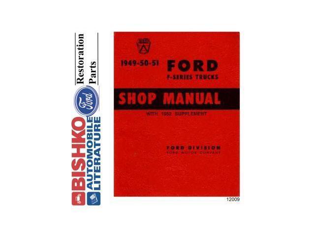 1952 international l110 wiring diagram 1952 ford 8n wiring diagram 1949 1952 ford truck shop service repair manual cd engine ...