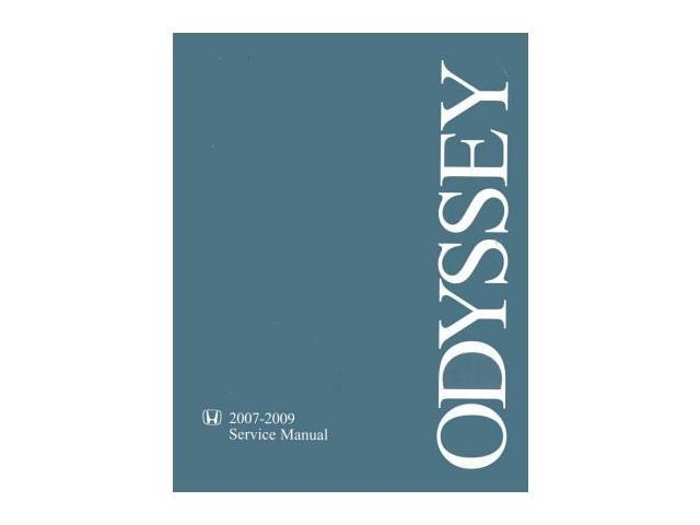 honda odyssey 2009 repair manual