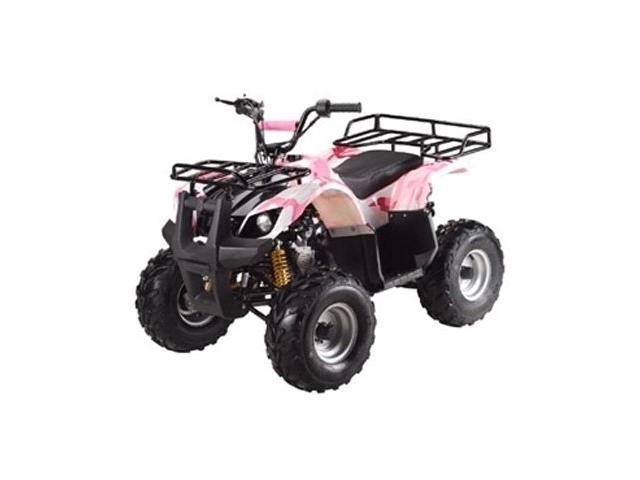 110cc Atv For Sale >> Ata 110d Taotao Kids Gas 110cc Utility Atv Pink Camo Newegg