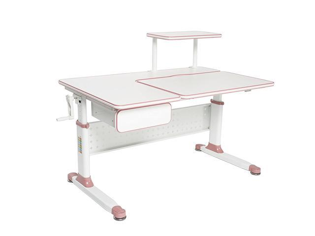 Excellent Apexdesk Little Soleil Dx Series Height Adjustable Study Desk For Children Pink Cjindustries Chair Design For Home Cjindustriesco