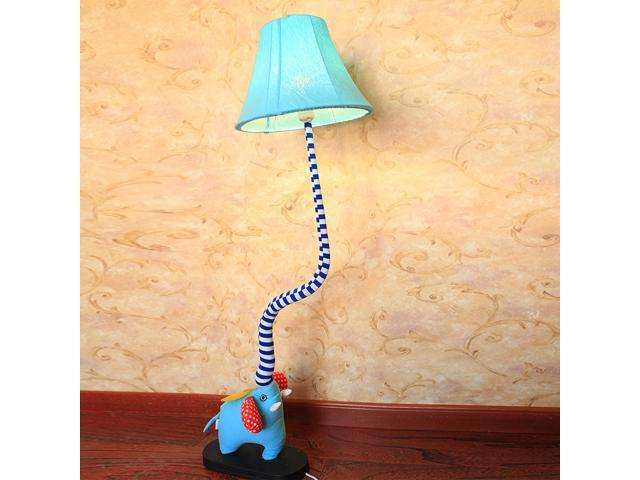 Cute Cartoon Elephants Baby Room Floor Lamp Creative Kid S Lamps Boy Bedroom Light