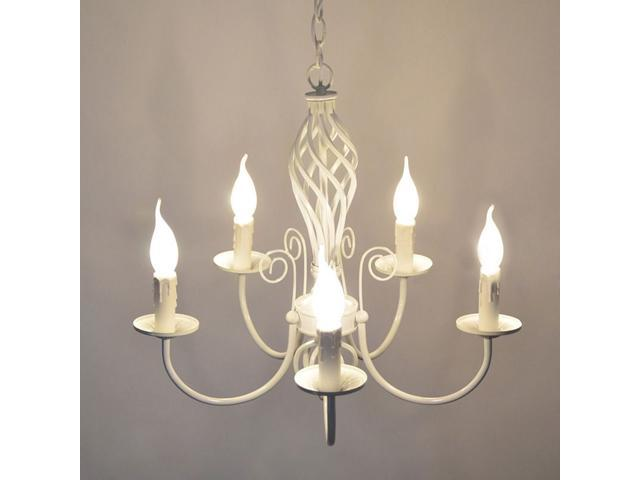 Iron Candle Living Room Chandeliers