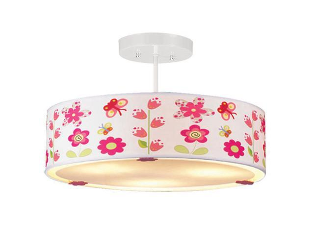 Cute Flowers Girl S Room Ceiling Lamps Creative Child Room Ceiling Light Bedroom Ceiling Lamp Newegg Com