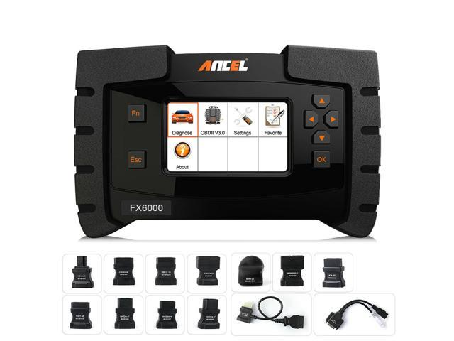 Ancel FX6000 OBD2 Scanner All System Airbag ABS SAS Transmission Key EPB  IMMO DPF TMPS Oil Reset Immo Programming Check Engine Light Code Reader  with