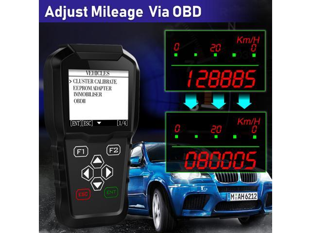 OBDPROG MT601 Car Auto Scanner Key Programmer Mileage Odometer Mileage  Correction Tool EEPROM Pin Code Reader OBD2 Diagnostic Replace X100 -