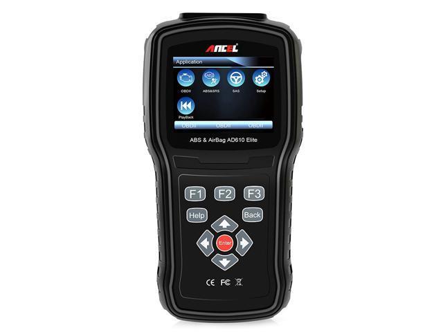 Automotive Scan Tool >> Ancel Ad610 Elite Odb2 Diagnostic Tool Abs Airbag Sas Error Code Reader All Model Obd 2 Car Automotive Scanner Newegg Com
