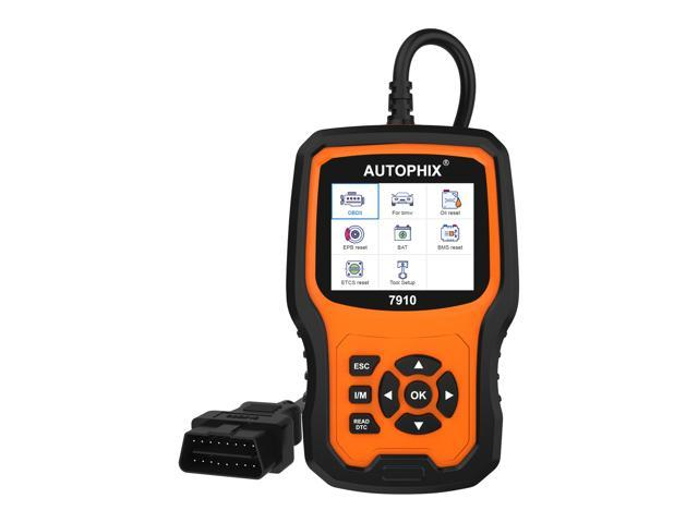 Autophix 7910 OBD2 Scanner for BMW Mini and Rolls Royce support ABS SRS SAS  EPB TPMS Oil Reset Check Engine Light Fault Code Reader OBD 2 Diagnostic