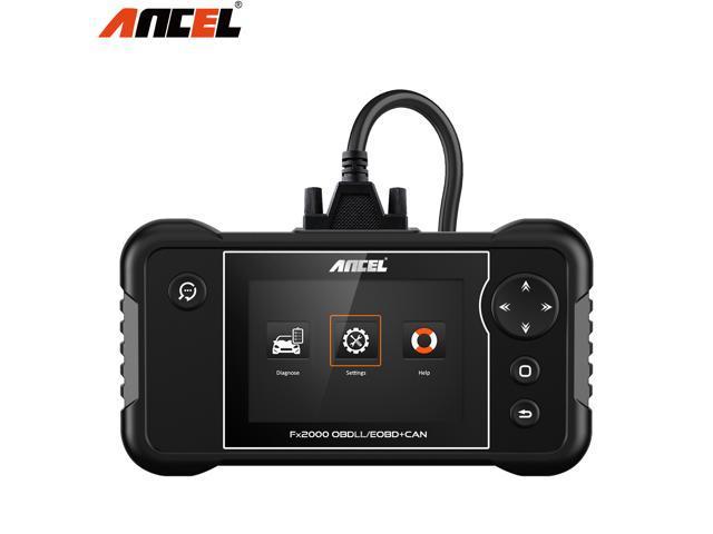Ancel FX2000 OBD2 Scanner Transmission ABS Airbag SRS Check Engine