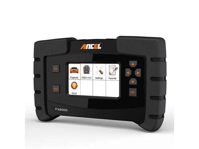 Ancel FX6000 OBD2 Scanner Transmission Airbag ABS SRS SAS EPB DPF Oil Reset  IMMO ECU Programming & Coding Check Engine Light Code Reader Full System