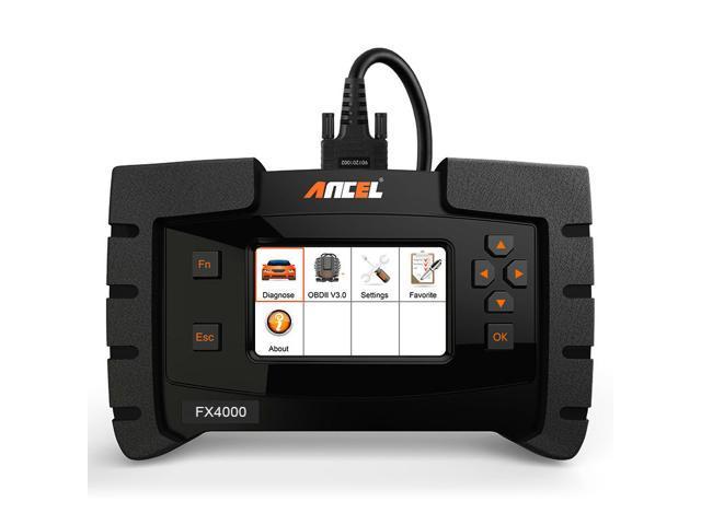 Ancel FX4000 OBD2 Scanner for Oil Reset EPB Reset ABS Bleeding Transmission  Check Engine Light Code Reader Full System OBDII for American Car