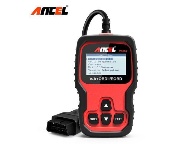 Ancel VD500 OBD2 Scanner Oil Service Reset ABS SRS Airbag Transmission EPB  Brake SAS Immobilizer Check Engine Light Read Code OBD 2 Diagnostic Scan