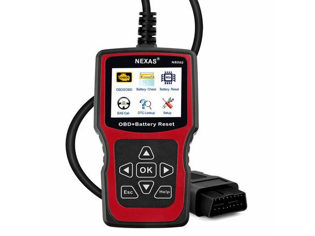 NEXAS NS202 Automotive Battery Registration BMS Reset SAS Diagnostic ScannerTool