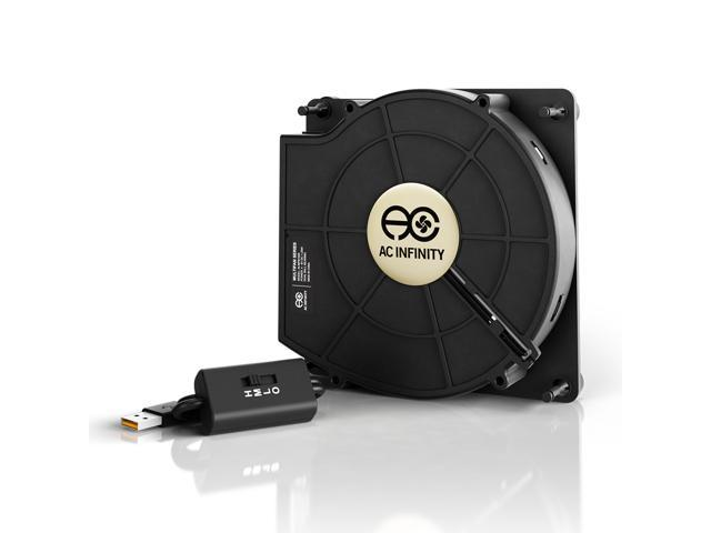 Ac Infinity Multifan S2 Quiet 120mm Usb Er Fan With Sd Control For Receiver