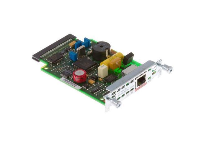 U Cisco WIC-1B-U-V2 1-Port ISDN BRI WAN Interface Card