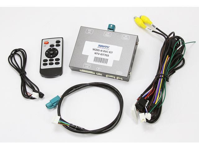 NAV-TV W205-N RVC KIT (NTVKIT703) Interface to Connect a Back Up Camera for  Select 2015 - Up Mercedes Benz Vehicles NTV-KIT703 - Newegg com