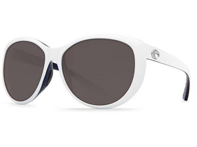 777cec7eca2 Costa Del Mar La Mar White Grey Lens LM72OGP Polarized Sunglasses