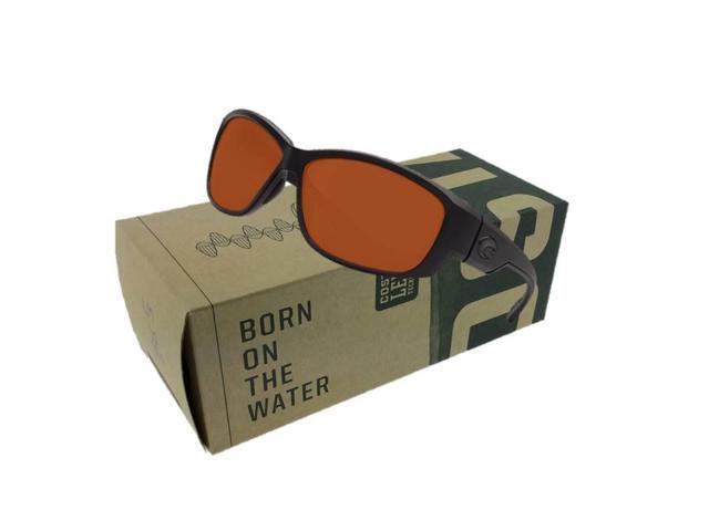 16a1106984c2e Costa Del Mar Luke Black Copper Lens LK01OCP Polarized Sunglasses