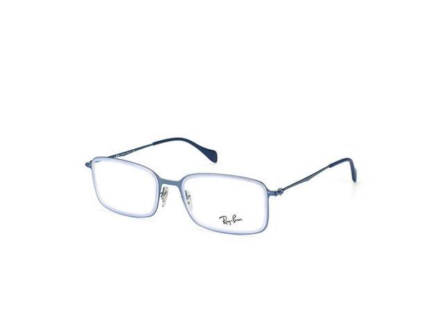 f165ca93a5 Ray-ban RX6298-2755-53 Highstreet Light Blue Frame 53 mm Eyeglasses New