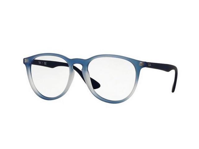 fbdbc0a8f20d Ray Ban RX7046-5601 Erika Women's Blue Frame Genuine Eyeglasses NWT ...