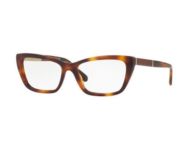31fc4ba08960 Burberry BE2236F-3316 Cat Eye Women's Light Havana Frame Genuine Eyeglasses  NWT