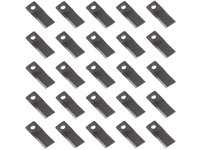 784220 New Pack of (25) LH Disc Mower Blades for Ford New Holland 442 452  462 + - Newegg com
