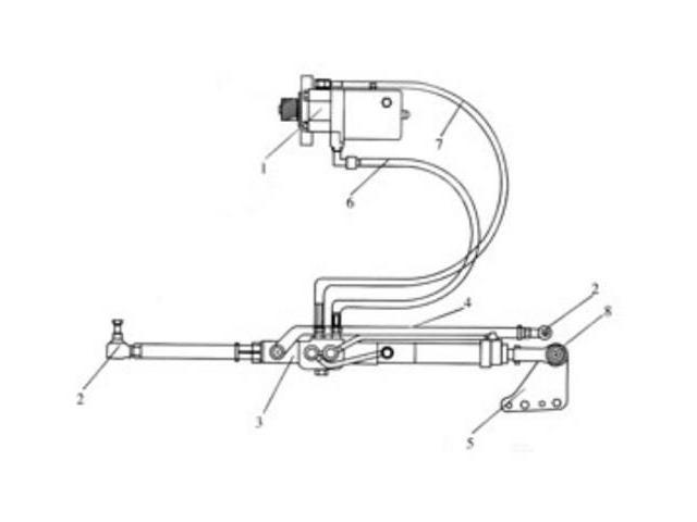 New Massey Ferguson Power Steering Conversion Kit MF 165 175 185 265 275 285