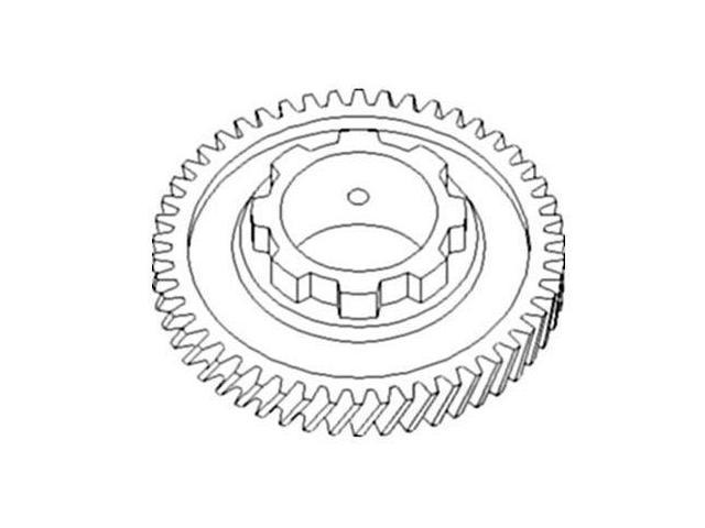 70234168 New 2nd Pinion Shaft Gear Made To Fit Allis Chalmers CA D10 + -  Newegg com