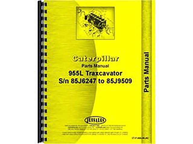 For Caterpillar 955L Traxcavator Parts Manual (New) - Newegg com