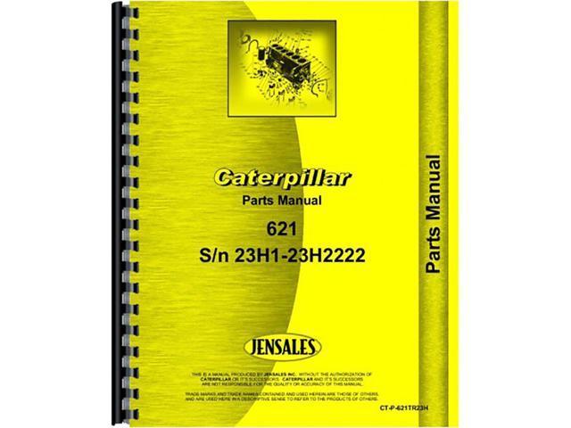 For Caterpillar 621 Tractor Parts Manual (New) - Newegg com