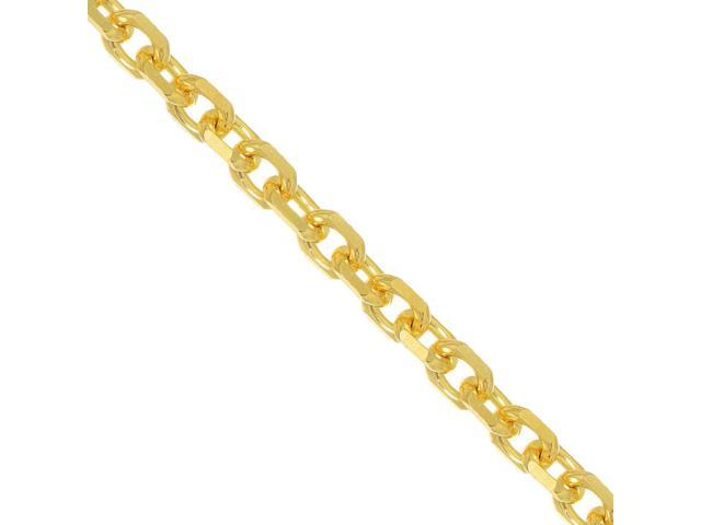 14k Gold 1.5mm Cable Chain Necklace