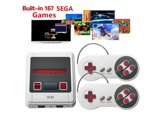 SEGA 16 bit Mini TV Handheld Retro Classic Console Video Game Console With  167 Classic SEGA Games PAL/NTSC - Newegg ca