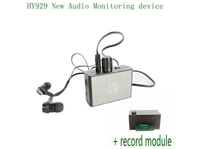 HY929 High Strength Wall Microphone Voice Bug Audio Spy Listen Monitoring  Gadgets Device + Recorder Module - Newegg ca