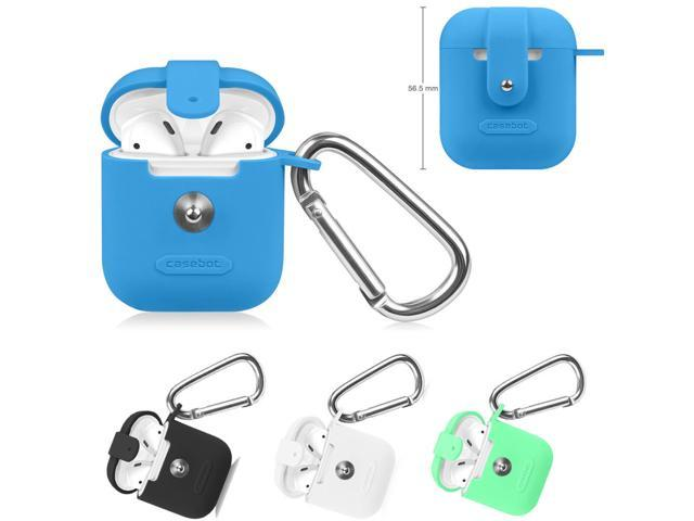 For Apple AirPods Earphone Headset Silicone Protective Case Cover Skin Bag Box