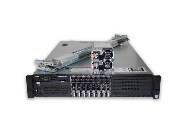 Dell PowerEdge R820 Server 4x E5-4640v2 2 2GHz 10C 128GB 4x 800GB SSD H710  - Newegg com