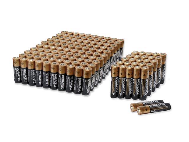 Duracell 52 Aaa 100 Aa Copper Top Alkaline Batteries