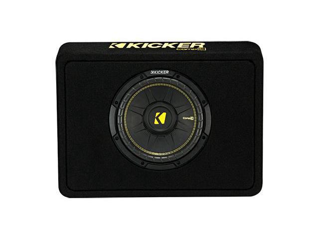 "Kicker TCWC104 CompC 10"" Subwoofer in Thin Profile Enclosure - Sale: $149.95 USD"