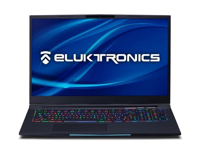 Eluktronics MECH-17 G1Rx Slim & Light NVIDIA GeForce RTX 2070 Gaming Laptop  with Mechanical RGB Keyboard - Intel i7-9750H CPU 8GB GDDR6 VR Ready GPU
